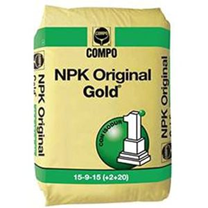 COMPO EXPERT NPK ORIGINAL GOLD 15+9+15 KG.5